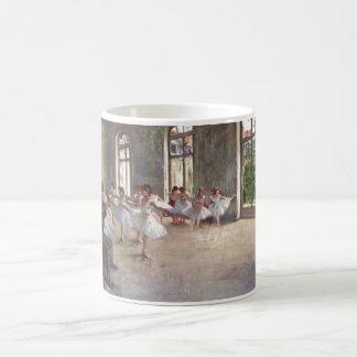 Edgar Degas - Ballet Rehearsal Class 1873 oil Basic White Mug