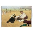 Edgar Degas | Beach scene Card