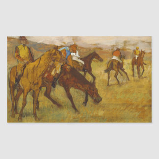Edgar Degas - Before the Race Sticker
