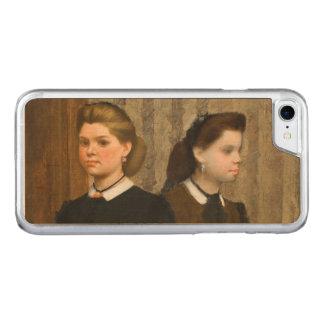 Edgar Degas Bellelli Sisters Carved iPhone 7 Case