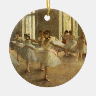 Edgar Degas Ceramic Ornament