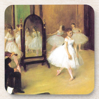 Edgar Degas - Dance Class Beverage Coaster