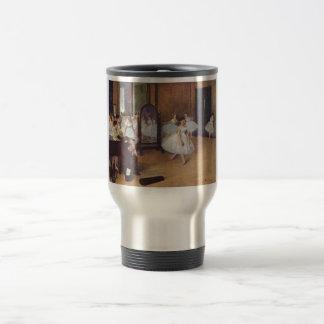 Edgar Degas - Dance Hall 1872 dancer ballerina oil 15 Oz Stainless Steel Travel Mug