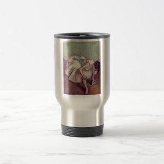 Edgar Degas - Dancer 1881-83 Ballet Stretch pastel Coffee Mugs