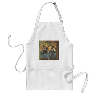 Edgar Degas - Dancer in Blue Ballet Ballerina Tutu Adult Apron