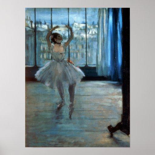 Edgar Degas   Dancer in Front of a Window Poster