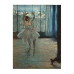 Edgar Degas   Dancer in Front of a Window Wood Wall Decor