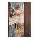 Edgar Degas - Dancer in her Box 1879 Ballerina