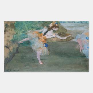 Edgar Degas - Dancer Onstage Sticker