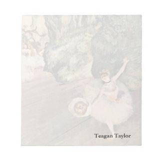 Edgar Degas | Dancer Takes a Bow Notepad