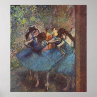Edgar Degas - Dancers 1890 Ballet Girls oil canvas Posters