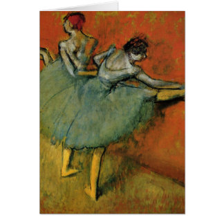 Edgar Degas | Dancers at the Bar Card