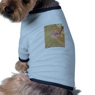 Edgar Degas - Dancers behind Backdrop 1880 pastel Pet Tee Shirt