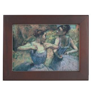 Edgar Degas | Dancers in Violet Keepsake Box
