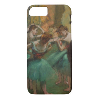 Edgar Degas Dancers Pink and Green iPhone Case