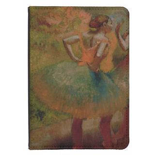 Edgar Degas | Dancers Wearing Green Skirts Kindle Case