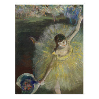 Edgar Degas | End of an Arabesque, 1877 Postcard
