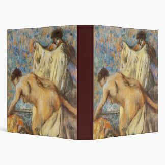 Edgar Degas Femme sortant du bain Vinyl Binder