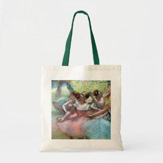 Edgar Degas | Four ballerinas on the stage Tote Bag
