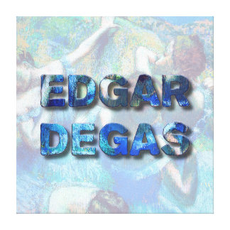 Edgar Degas French Impressionist Blue Dancers Canvas Print