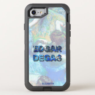 Edgar Degas French Impressionist Blue Dancers OtterBox Defender iPhone 8/7 Case