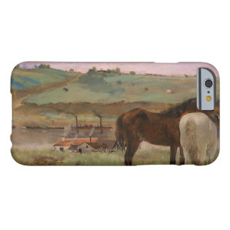 Edgar Degas - Horses in a Meadow Barely There iPhone 6 Case