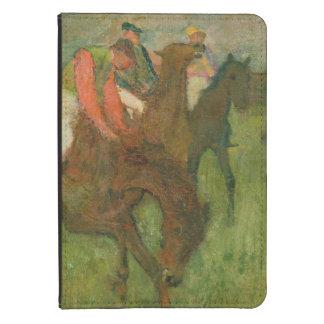 Edgar Degas | Jockeys, 1886-90 Kindle 4 Cover