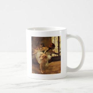 Edgar Degas La Répétition De Danse Classic White Coffee Mug