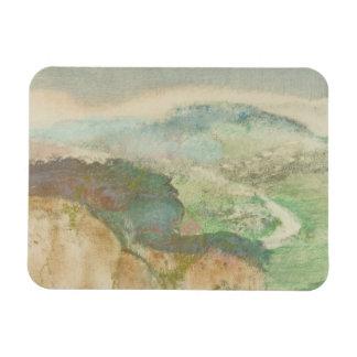 Edgar Degas - Landscape Magnet