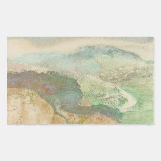 Edgar Degas - Landscape Sticker