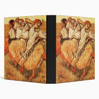 Edgar Degas Les Trois danseuses russes 3 Ring Binders