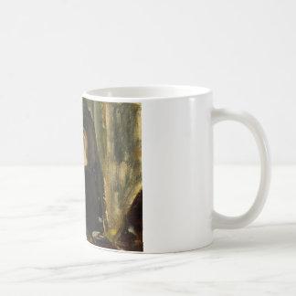Edgar Degas - Mademoiselle Marie Dihau (1843–1935) Coffee Mug