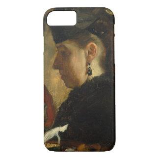 Edgar Degas - Mademoiselle Marie Dihau (1843–1935) iPhone 8/7 Case
