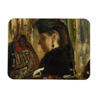 Edgar Degas - Mademoiselle Marie Dihau (1843–1935) Magnet