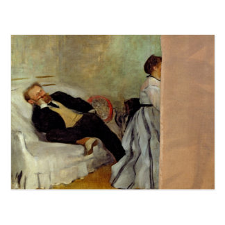 Edgar Degas | Monsieur and Madame Edouard Manet Postcard
