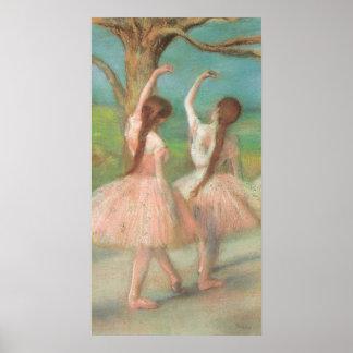 Edgar Degas Pink Dancer Poster