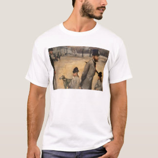 Edgar Degas | Place de la Concorde, 1875 T-Shirt