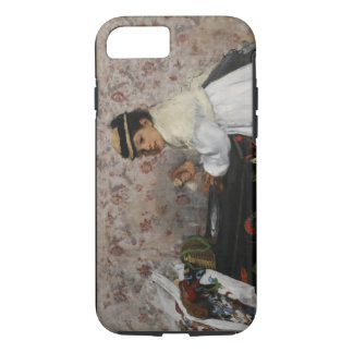 Edgar Degas | Portrait of Mlle Hortense Valpinçon iPhone 7 Case
