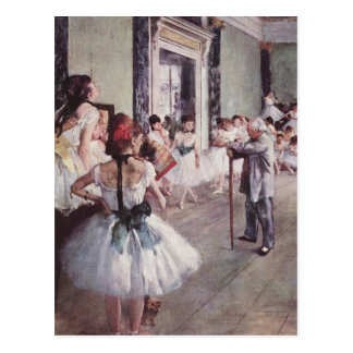 Edgar Degas Post Card