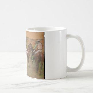 Edgar Degas - Race Horses Coffee Mug