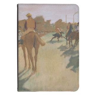 Edgar Degas | Race Horses in front of the Stands Kindle Cover