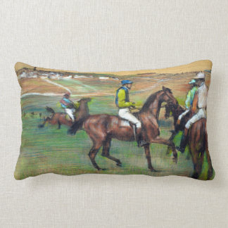 Edgar Degas Race Horses Lumbar Pillow