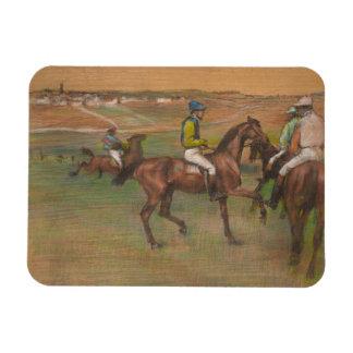 Edgar Degas - Race Horses Magnet