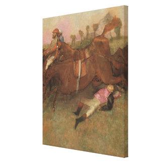 Edgar Degas   Scene from the Steeplechase Canvas Print
