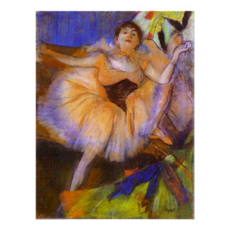 Edgar Degas - Seated Dancer 1879-1880 Bust Woman Posters