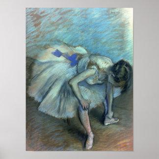 Edgar Degas | Seated Dancer, c.1881-83 Poster
