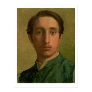 Edgar Degas | Self Portrait Postcard