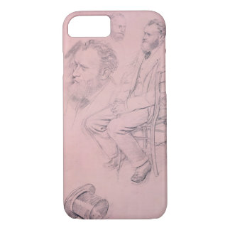 Edgar Degas | Study for Portrait of Edouard Manet iPhone 7 Case