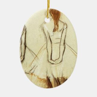 Edgar Degas: Study for the Little Dancer Ceramic Ornament