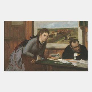 Edgar Degas - Sulking Sticker